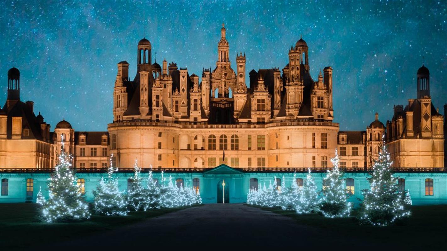 Coloriage Chateau De Chambord.Noel Au Chateau De Chambord Idees De Sorties Dans Le Val De Loire